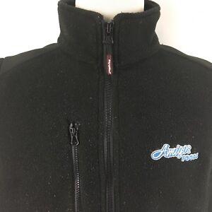 RefrigiWear-Mens-XL-Warm-Fleece-Softshell-Fleece-Vest-Black