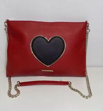 borsa donna firmata love moschino ecopelle rosso bags