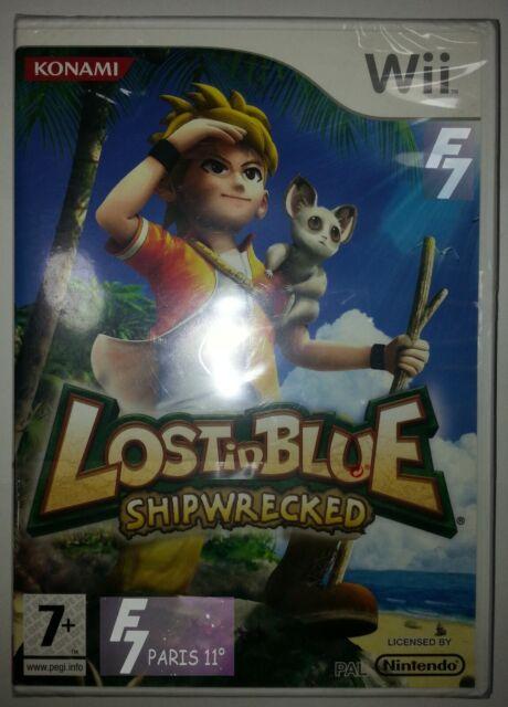 Lost In Blue - Shipwrecked -Nintendo Wii / WII U neuf/new