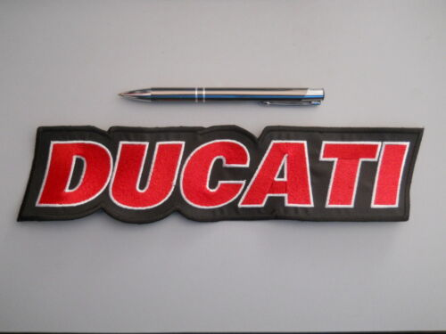 Ducati Patch Embroidered Fusible cm 20 x 5
