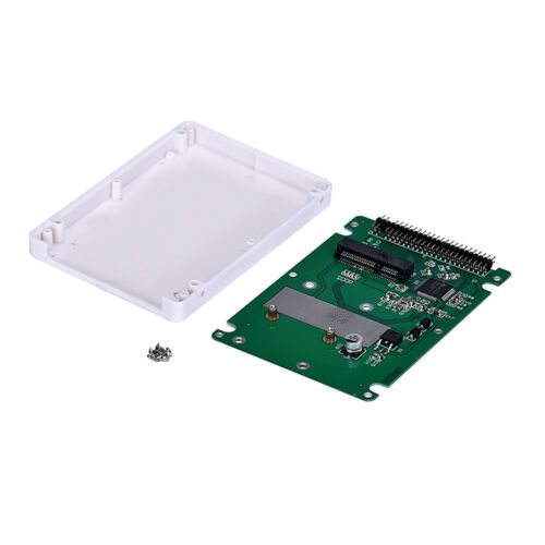 mSATA To 2.5Inch PATA//IDE SSD Enclosure Adapter Case