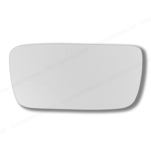 Passenger Side WING DOOR MIRROR GLASS For Volvo 440 460 480 1991-1997 Stick On