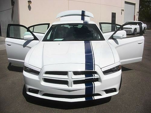"Dodge Charger Mopar Style 5"" Racing Stripe Kit 20 Feet Graphics 2015 2016 15 16"