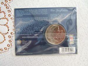 2012 British Cinq Pound Coin. Diamond Jubilee... Monnaie Royale Dossier... 354-al Mint Folder....354 Fr-fr Afficher Le Titre D'origine Pourtant Pas Vulgaire