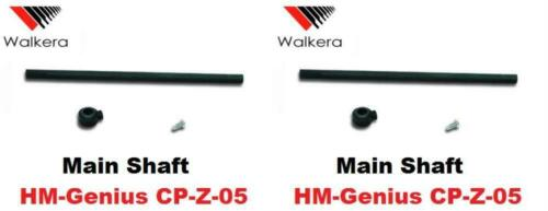 Walkera Super CP HM-Genius CP-Z-05 Main Shaft Helicopter Part 2 Pack