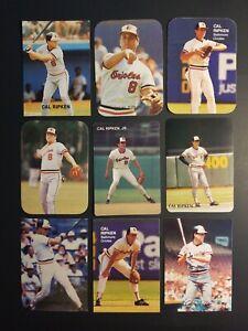 Cal-Ripken-Jr-Baltimore-Orioles-Lot-9-oddball-Baseball-Cards