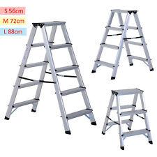 Foldable Aluminum Ladder A-type Multi-functional Folding Step Platform 3 Sizes
