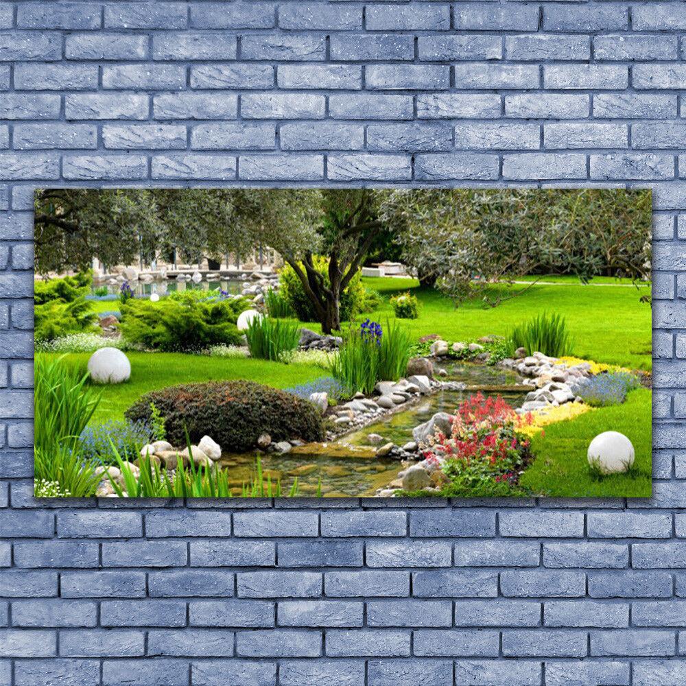 Wandbilder Glasbilder Druck auf Glas 140x70 Garten Natur