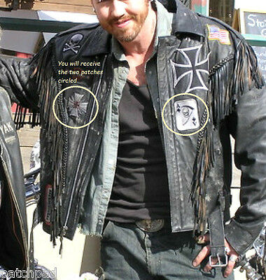 SPIDER WEB IRON CROSS AS SEEN ON MOVIE WILD HOGS OUTLAW MC GANG COLLECTIONS