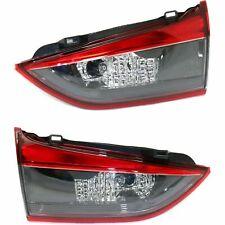 Mazda 6 2014 2015 Left Right Inner Taillight Tail Light Rear Trunk Lid Lamp Pair Fits Mazda 6