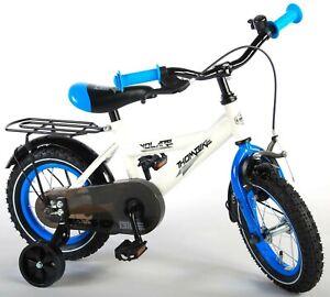 12 zoll fahrrad kinderfahrrad kinder jungen blau wei bike cruiser ebay. Black Bedroom Furniture Sets. Home Design Ideas