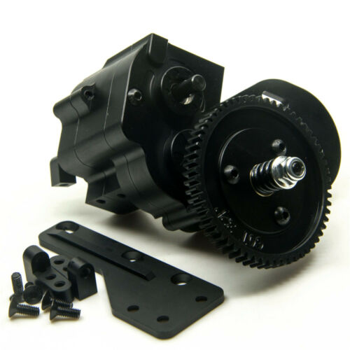 Honcho RC 4WD 1//10 RC Crawler Truck AX2 2 Speed Transmission for Axial SCX10