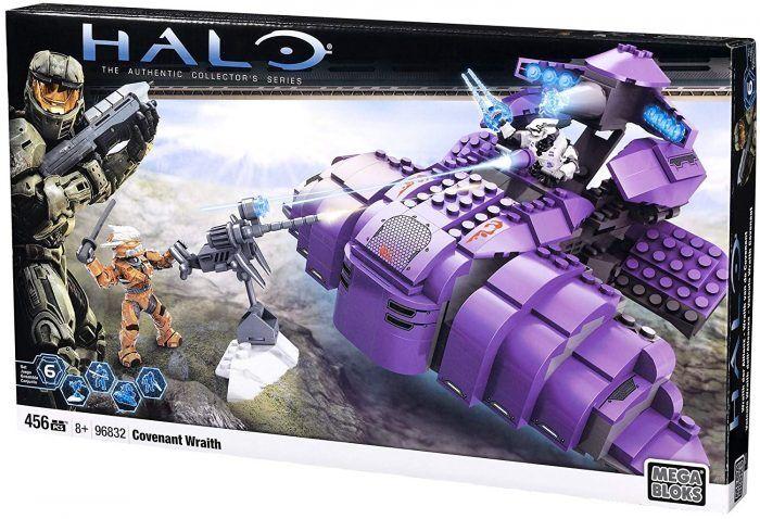 Mega Bloks Halo Covenant Wraith 96832 para armar Conjunto de Juego