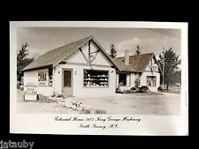 VINTAGE POSTCARD REAL PHOTO COLONIAL HOUSE NORTH SURREY BRITISH COLUMBIA RPP