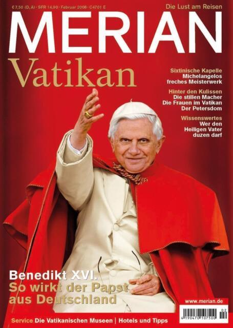 MERIAN Reisemagazin VATIKAN 2008 - Mängelexemplar