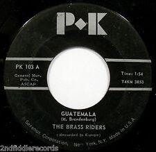 THE BRASS RIDERS-Guatemala & Okapi-Instrumental Spanish Horn Band 45-PK #103