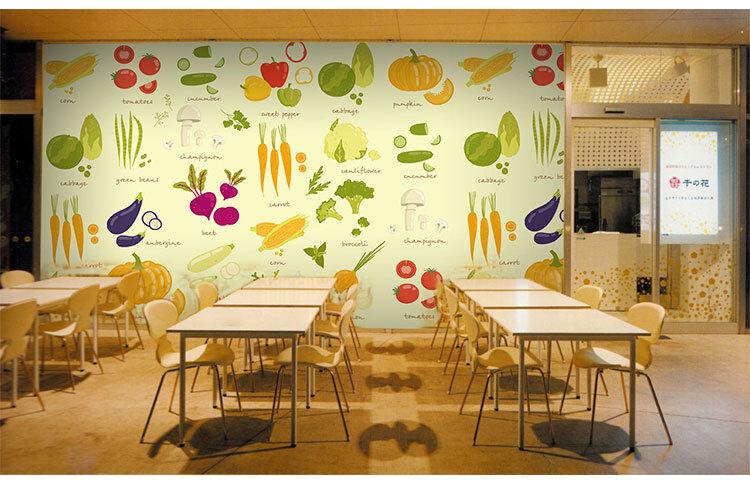 3D Gemüse Muster 557 Tapete Tapeten Mauer Foto Familie Tapete Wandgemälde DE
