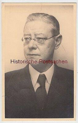 (f10964) Orig. Foto Porträt Eines Mannes, Alfons Schulze 1930er