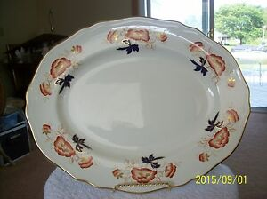Royal-Tunstall-Vintage-Porcelain-Large-Serving-Plate-034-Clovelly-034-Made-In-England