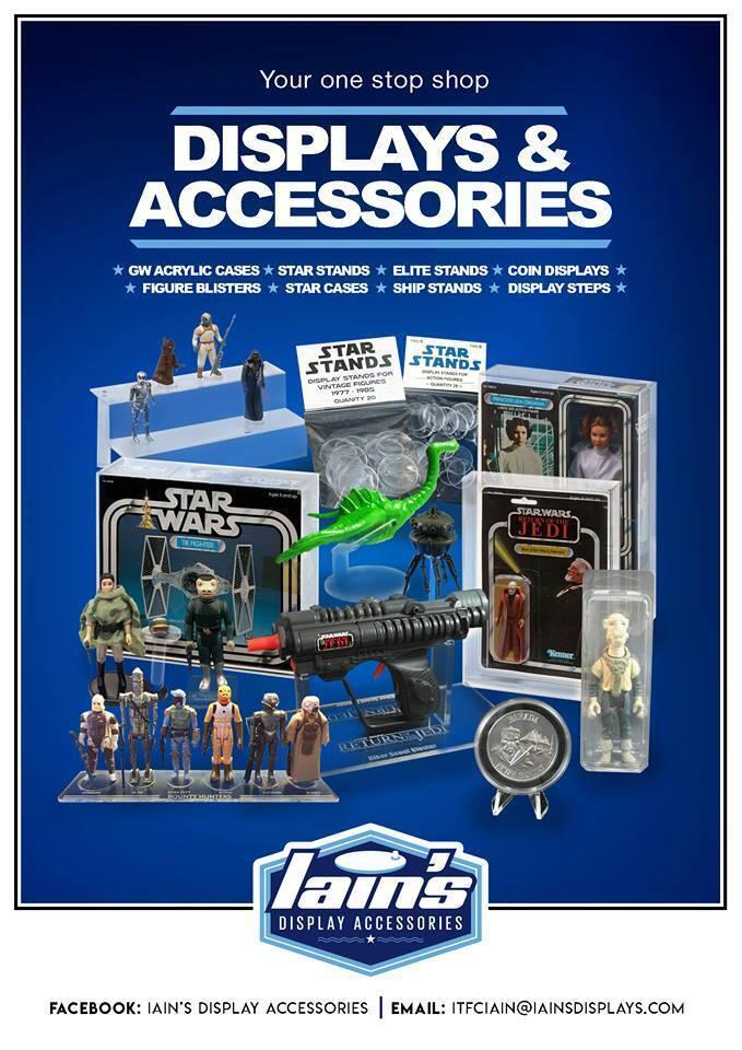 10 x GW Acrylic Display Cases - LOOSE STAR STAR STAR WARS, LEGO & MASK Figures (AFC-001) 9a3c51