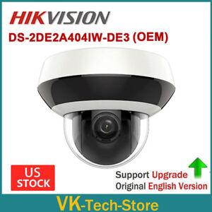 Details about Hikvision OEM PTZ DS-2DE2A404IW-DE3 DT2A404 4MP 4x Zoom  2 8-12mm H 265 IP Camera