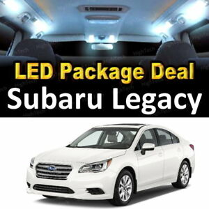 Details about 8x White LED Lights Interior Package Deal For 2010- 2016 2017  2018 Subaru Legacy