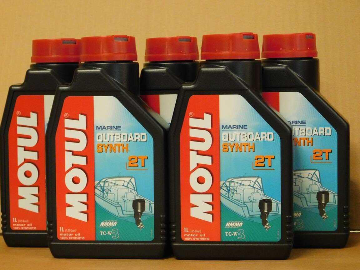 /l Motul Outboard Synth 2T 2T 2T 5 x 1 Ltr vollsyn Außenborder 2-Taktöl f7d394