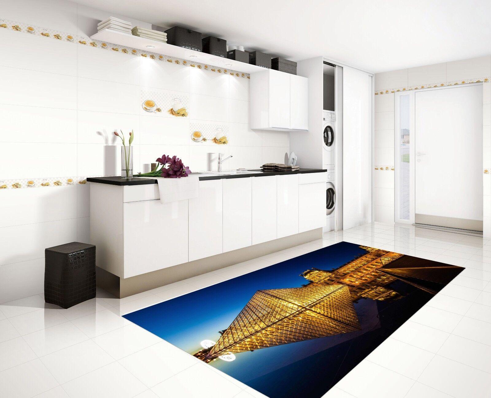 3D Sky Pyramid Water 79 Kitchen Mat Floor Murals Wall Print Wall Deco UK Carly