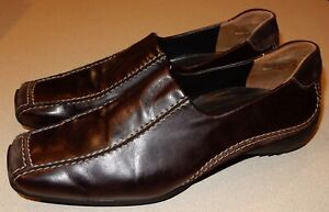 Paul Green Brown Leather Shoes