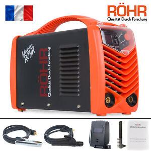 Rohr-Poste-a-souder-a-l-039-arc-MMA-160FI-onduleur-MMA-technologie-IGBT-240-V