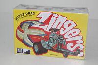 Mpc Models Zingers Super Drag Custom Hot Rod, In Box