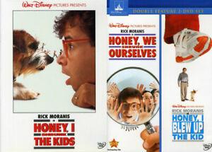 Honey, I Shrunk the Kids Complete Movie Series 1 2 3 (1-3) NEW DVD Set Bundle
