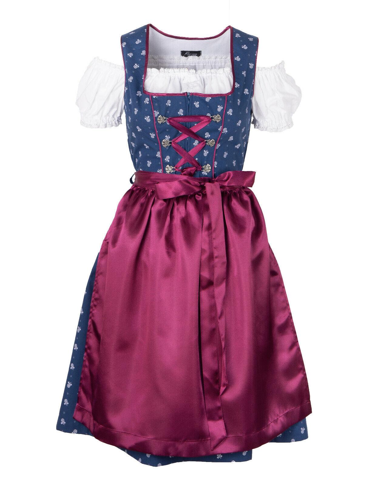 Ramona Lippert Dirndl Helga pink Trachtenkleid Damendirndl 2-teilig ohne Bluse