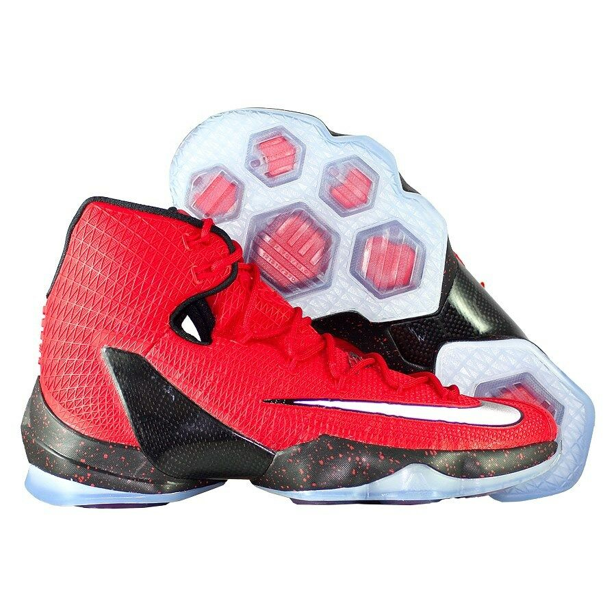 Nike LeBron 13 XIII Elite Triple Red Gym Black Bred Ice 831923-606 Cavs 9.5 MVP Special limited time