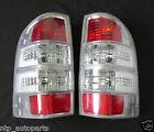 2 x CHROME CLEAR TAIL LIGHT for Ford Ranger PK XLT XL 4x4 2009 - 2011 2010 LH RH