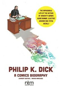PHILIP-K-DICK-A-COMICS-BIOGRAPHY-HARDCOVER-EDITION-2019-BLADE-RUNNER