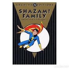 Shazam! Family Golden Age Archives Vol. 1 by Mac Raboy Otto Binder C. C. Beck HC
