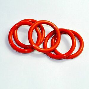 33mm-Tube-Dampers-Silicone-Ring-ft-6L6G-6L6GC-6CA7-6L6GCR-tube-Audio-amps-20pcs