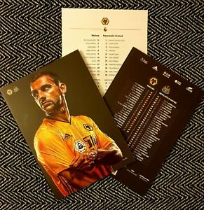 Wolves-v-Newcastle-United-Programme-with-official-teamsheet-11-1-20
