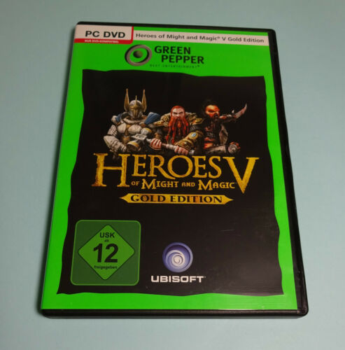 1 von 1 - Heroes Of Might And Magic V - Gold Edition (PC Spiel, 2012)