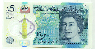 England Great Britain 10 Pound Series D Sommerset Bank of England Note circ