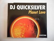DJ QUICKSILVER : PLANET LOVE [ CD-MAXI PORT GRATUIT ]