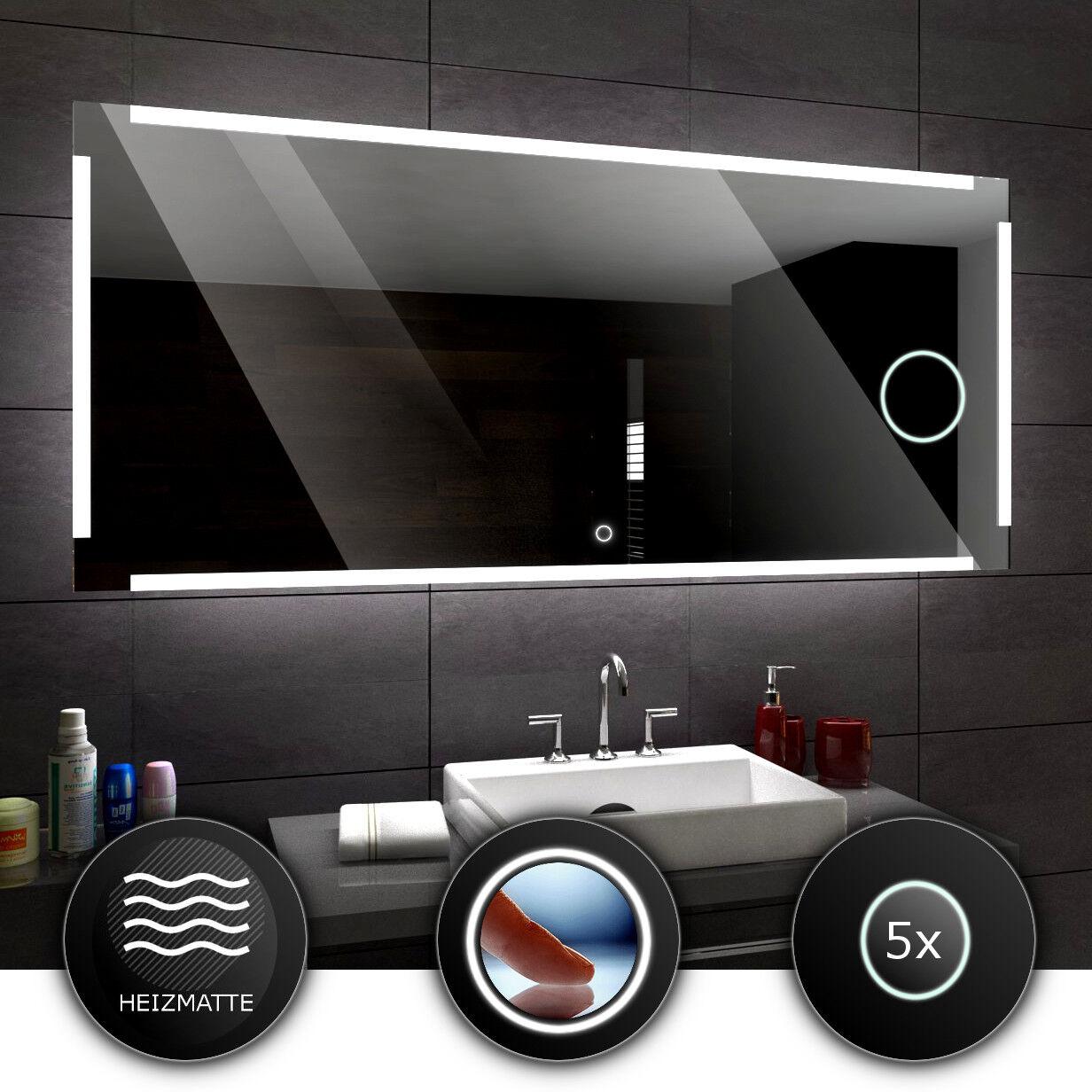 RYGA Lumineux LED LED LED Bain Miroir De la Salle mural   grossissant   interrupteur 7a97e0
