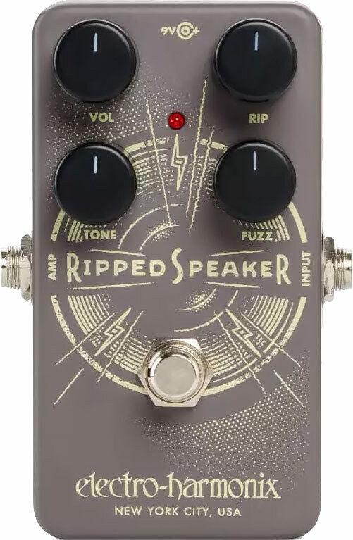 Electro Harmonix Ripped Speaker Fuzz Guitar Pedal - Ripped Speaker