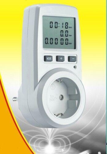 Energiekostenmessgerät Strommesser FHT-9996G misst schon ab 1Watt bis 3600 Watt