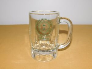 "VINTAGE 5"" HIGH STATE UNIVERSITY OF NEW YORK OSWEGO 1948 GLASS BEER MUG"