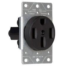 10 Industrial Flush Mount Range Receptacle 50a Power Outlet 14 50r