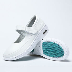 Newest Nurse Shoes Vogue Mary Jane Slip Resistant White Nursing Working Shoes