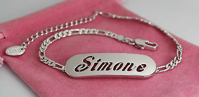 SIMONE Bracelet With Name Fashion Gifts For Her 18ct Yellow Gold Plated