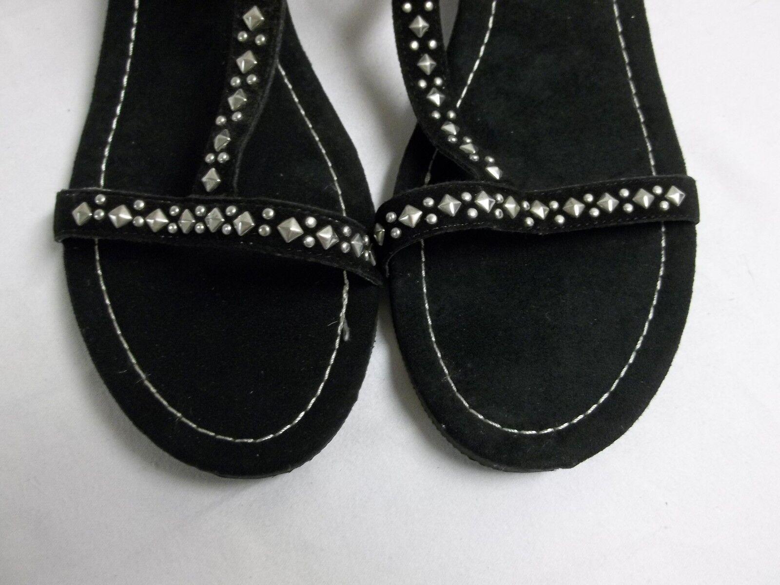 Rampage Size 11 M Freeway Black Faux Suede Ankle Strap Strap Strap Sandals New Womens shoes 58cfcb